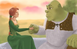 shrek_and_fiona_by_agivega