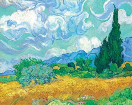 vgcornfield_with_cypresses