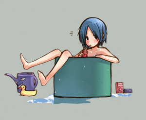 Katsu_in_a_tub_by_demitasse_lover