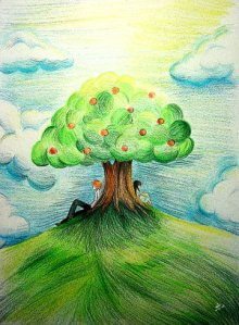 Apple_Tree_by_Rinian
